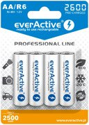 "Akumulatory 4xR6/AA everActive Ni-MH 2600 mAh ""Ready to Use"""