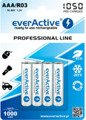 "Akumulatory 4xR03/AAA everActive Ni-MH 1050 mAh ""Ready to Use"""